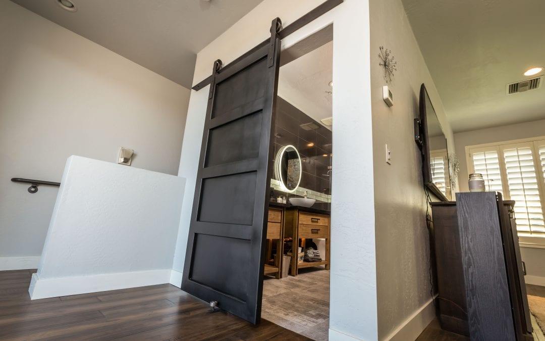 Modern Steel Sliding Door