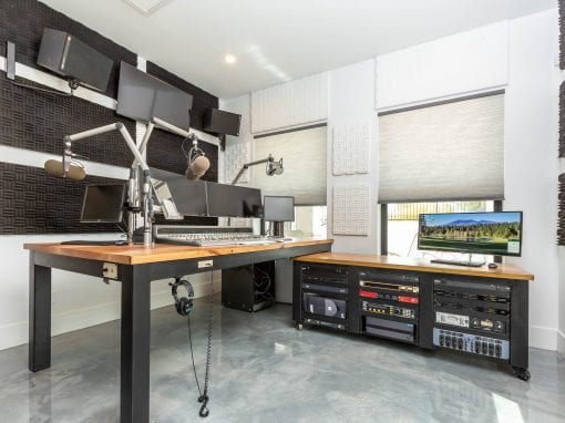 Custom Radio Broadcasting Desk