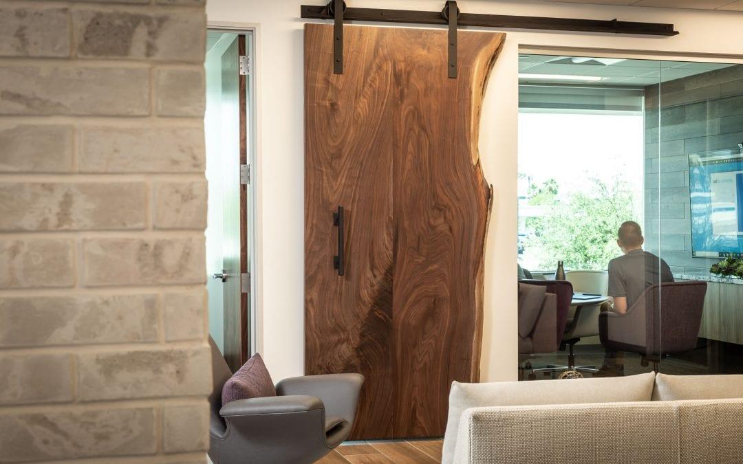 Live Edge Sliding Door – Bradley Wealth