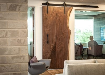 Live Edge Sliding Door – Bradley Wealth