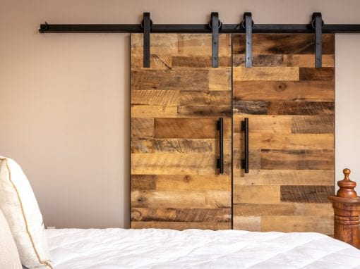 Reclaimed Bi-Part Doors