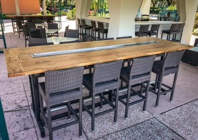 Disney Wine Trough Tables