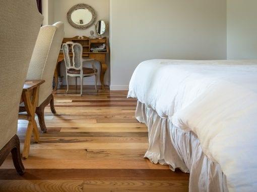 Master Bedroom Reclaimed Floor