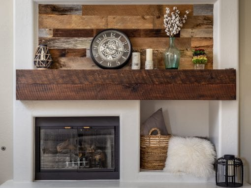 Reclaimed Mantel & Wall Decor