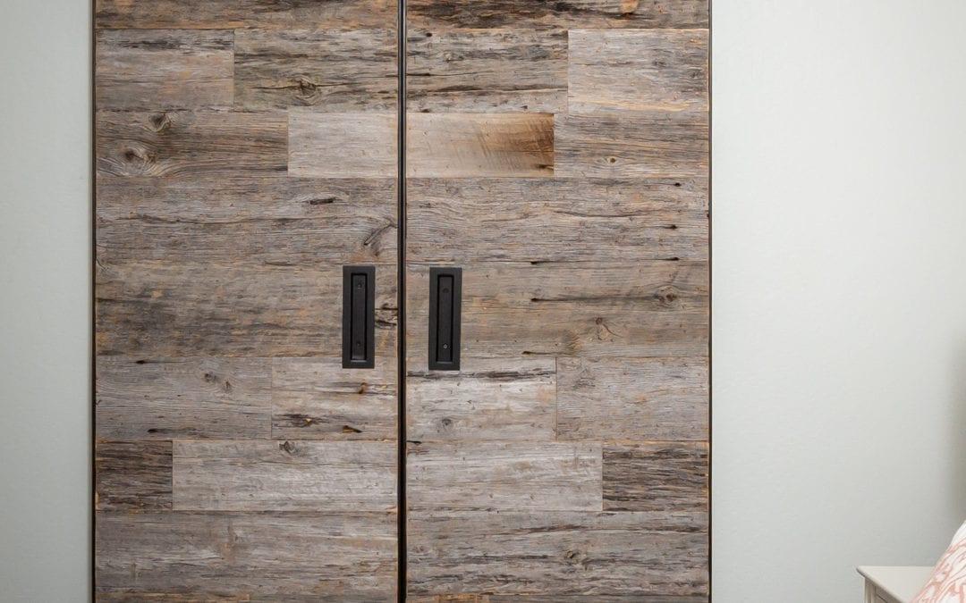 Master Bedroom Bi-Part Doors