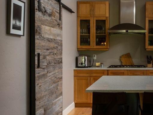 Reclaimed Kitchen Pantry Door