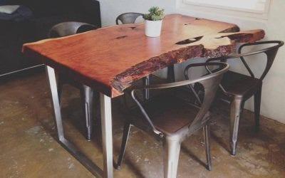 Lindahl Live Edge Table