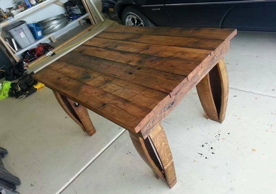 Mark's Barrel Table
