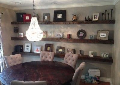oakjoistshelves