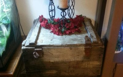 Reclaimed Box Table