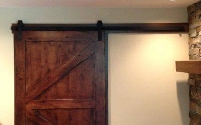 Arrow Pattern Door – Customer Installed