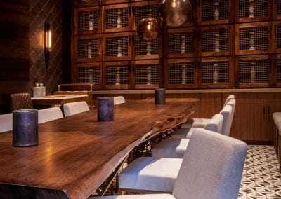 Toca Madera Private Dining Room