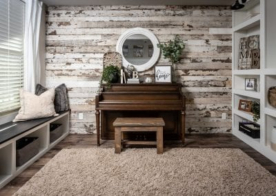 Reclaimed Speckled White Project