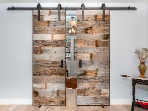 Tobacco Grey Bi-Part Doors