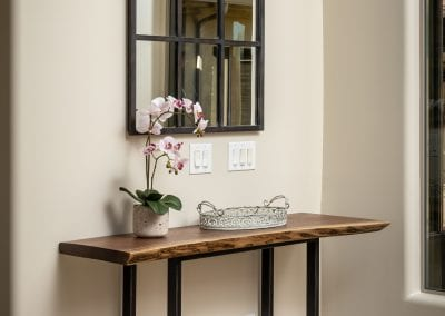 Walnut Console Tables