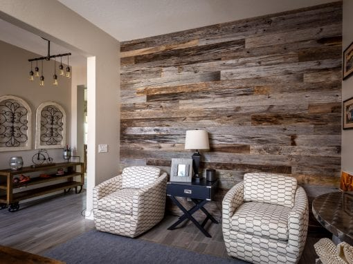 Tobacco Grey Home Office Wall