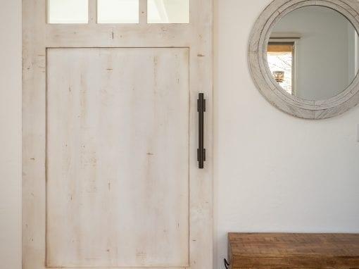 Elegant Master Bedroom Sliding Door