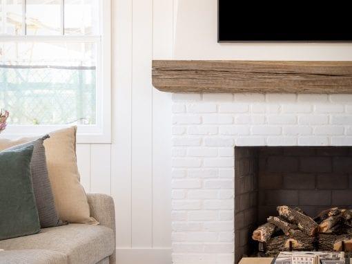 Classy Reclaimed Mantel – Rafterhouse 4411