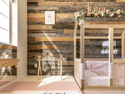 Reclaimed Nursery Wall