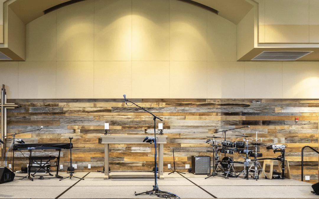Desert Foothills Church Wall – Scottsdale