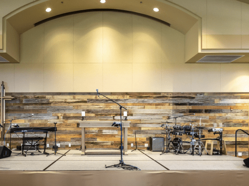 Desert Foothills Church Wall – Scottsdale