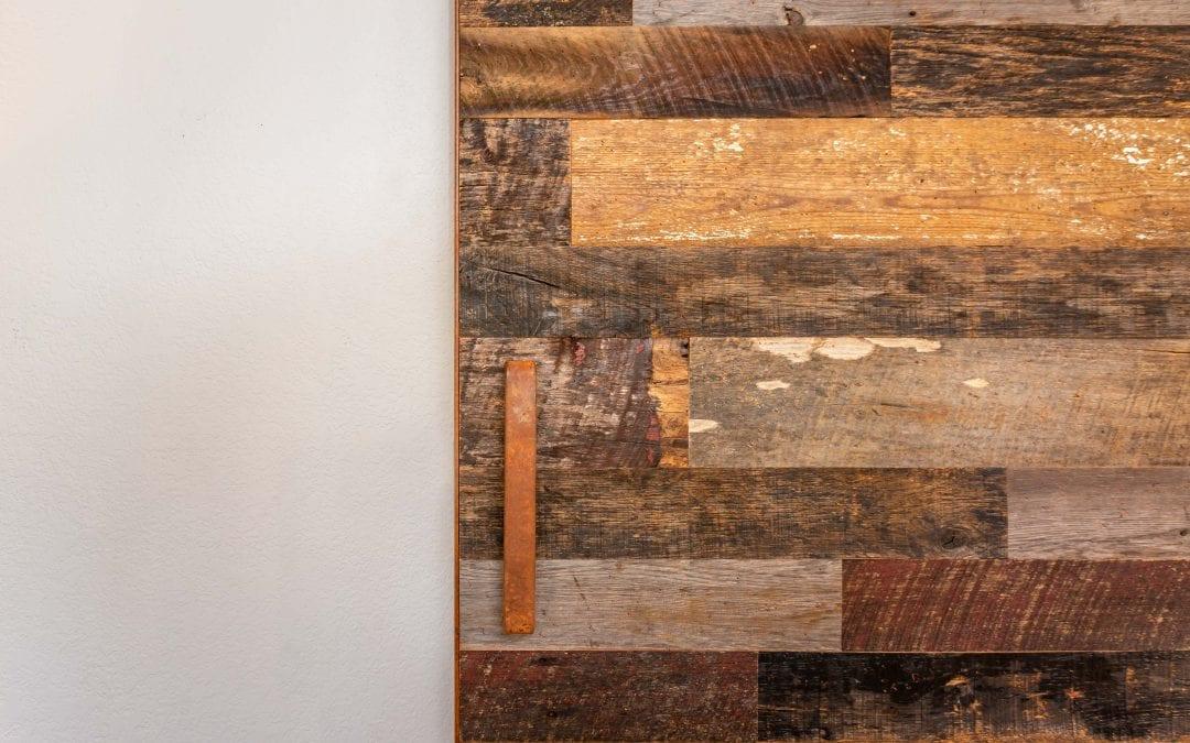 Rusty Patina & Tobacco Shorts Sliding Door