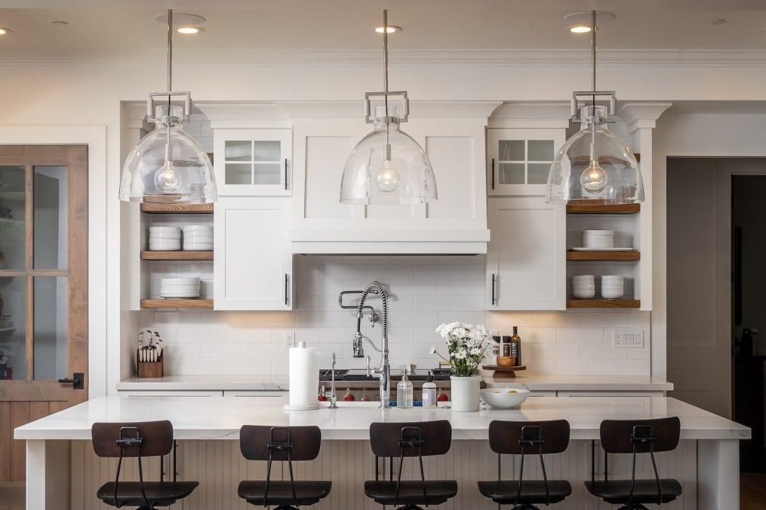 Sassafras Kitchen Shelves