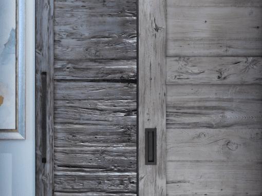 XL Matching Mushroom Wood Doors