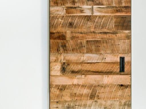 Tobacco Brown Rough Sawn Door