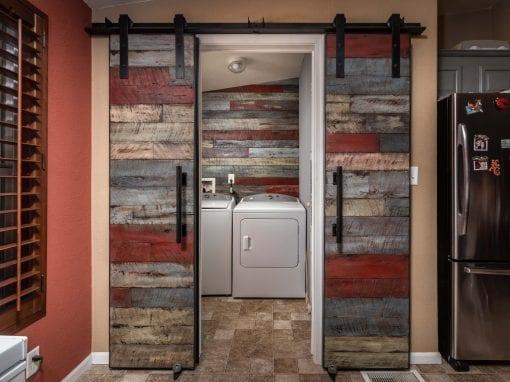 Ignite Reclaimed Bi-Part Doors & Wall