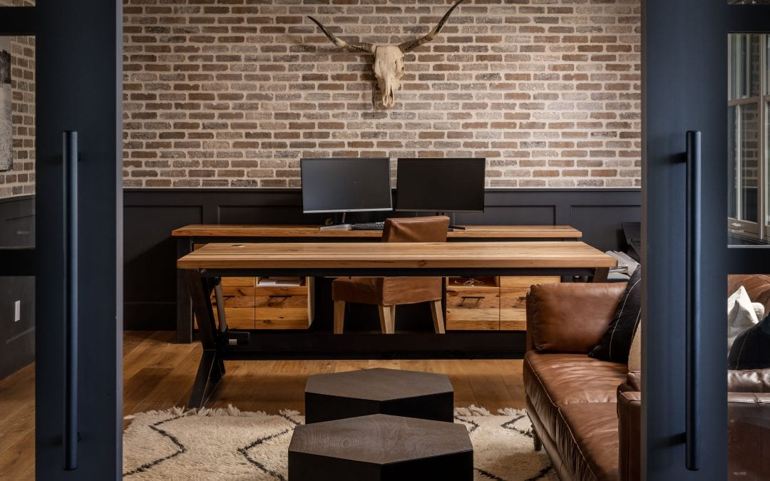Custom Mixed Hardwood Desks
