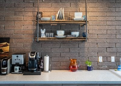 Simple Industrial Reclaimed Shelves
