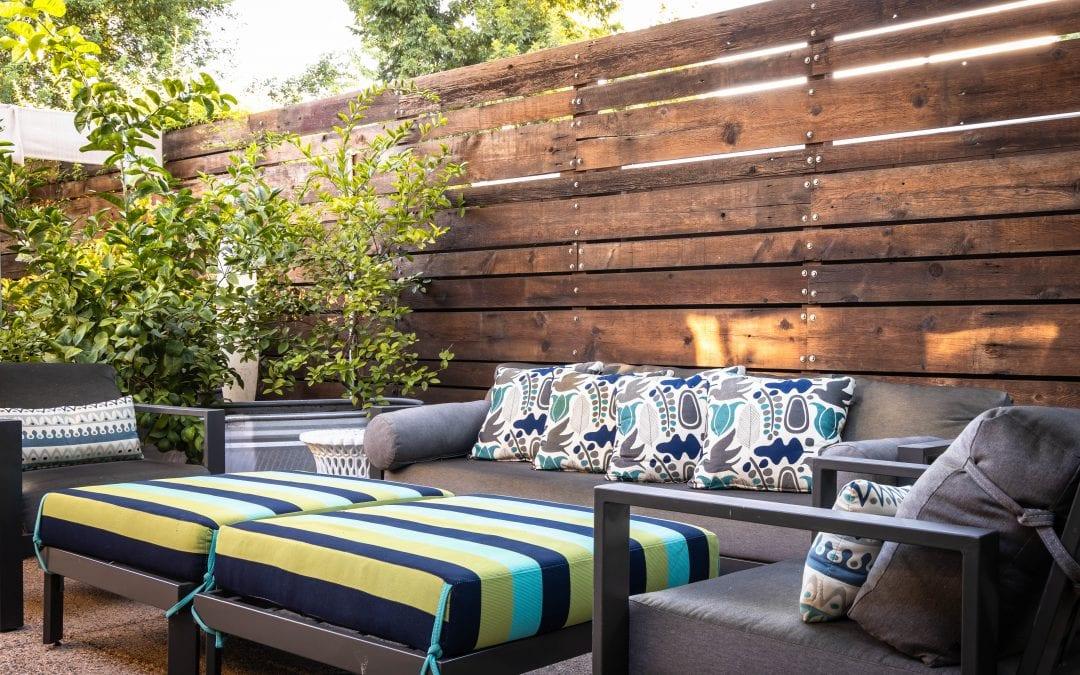 Outdoor Wood Wall