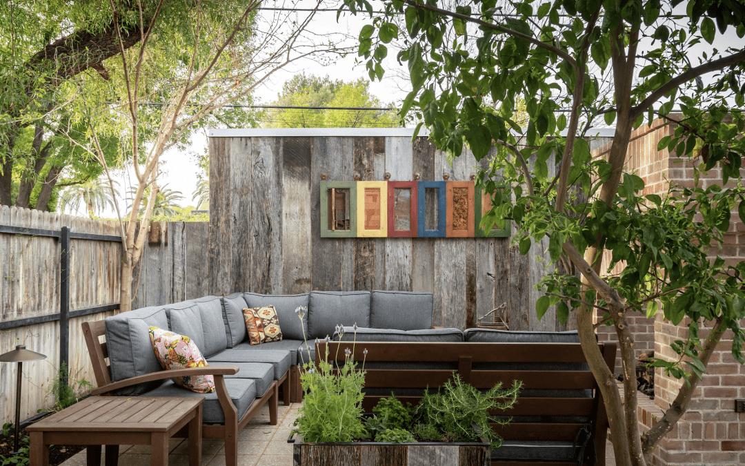 Reclaimed Backyard Oasis