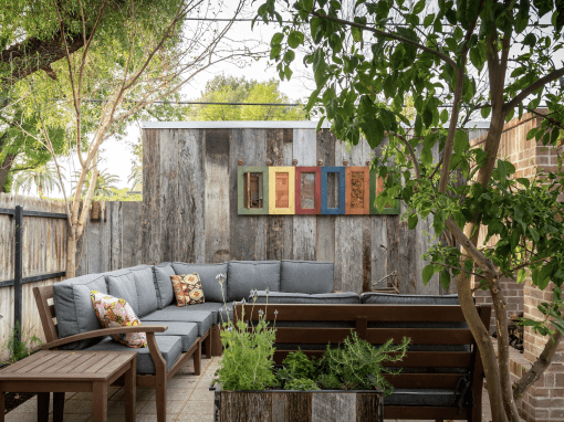 Reclaimed Backyard Oasis