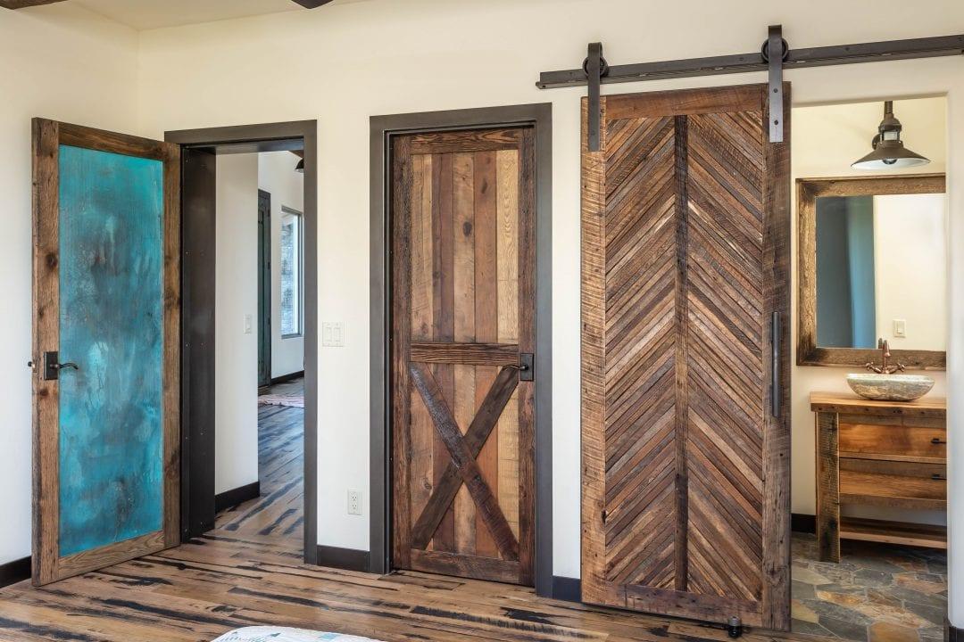3 Custom Bedroom Doors