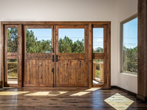 Custom Sedona Double Backdoor