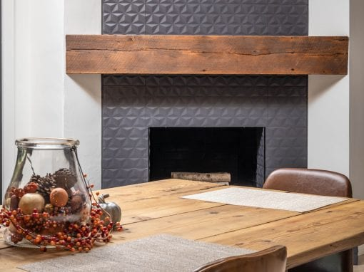 Reclaimed Modern Mantel