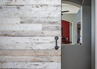 Speckled White Office Door