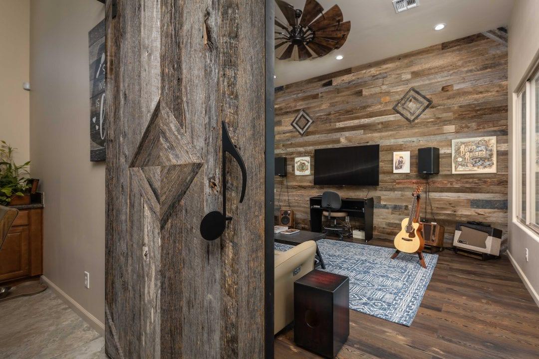 Reclaimed Music Room