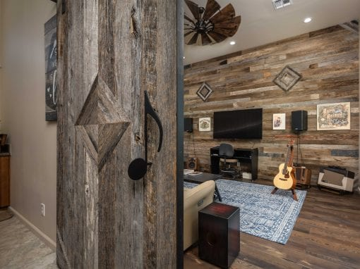 Reclaimed Music Room
