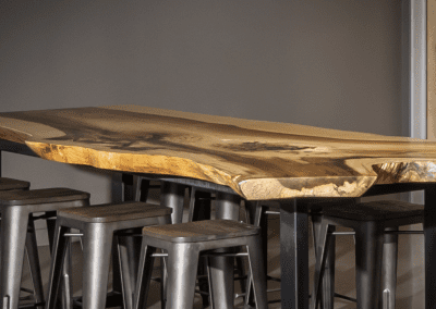 Toy Barn Live Edge Table