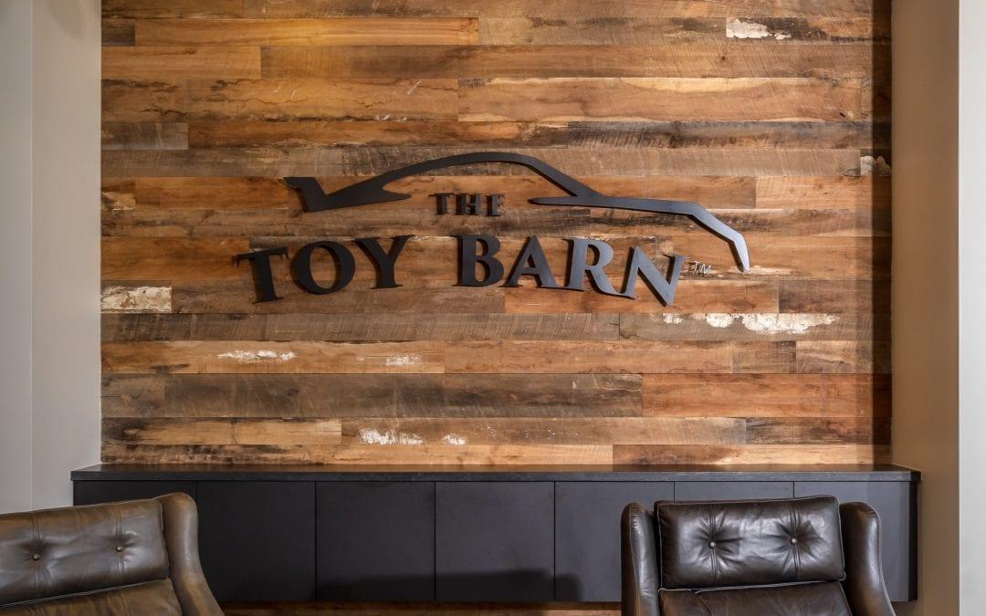 Toy Barn Wall & Custom Sign – Cave Creek