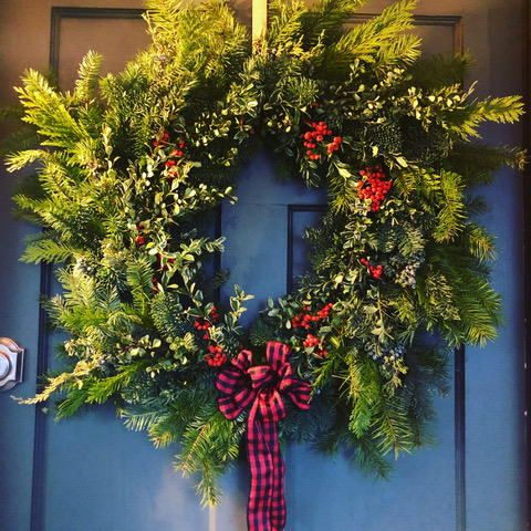 Merry Makings Live Wreath Workshop