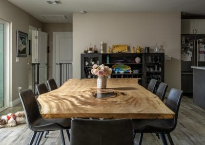 Cottonwood Live Edge Dining Table