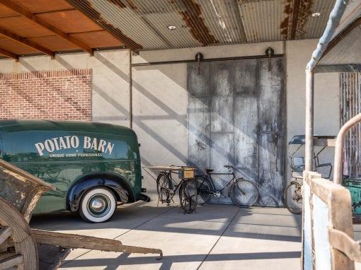 Potato Barn Steel Doors – Mesa
