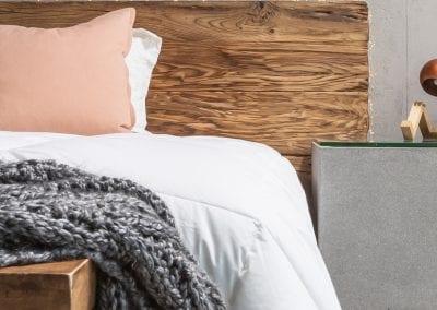 Modern Reclaimed Wood Headboard