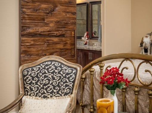 Master Bedroom Mushroom Wood Door