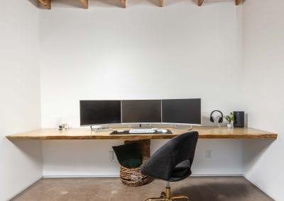 Ponderosa Pine Live Edge Desk
