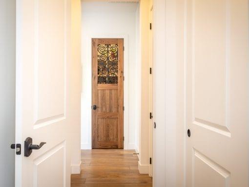 Walnut Pantry Door